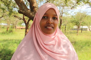 Rumana Isaac, the national assistant coordinator for the youth anti-fgm network
