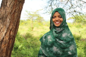Halima Hirbo, an anti-fgm activist in Marsabit county