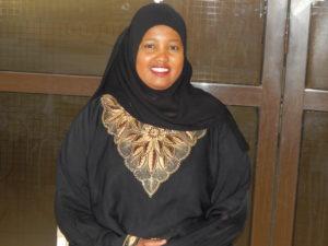 Amina Ahmed, leader of Bright Ladies Group in Majengo, Nairobi
