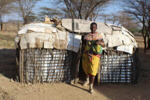 Ayaya Lesaiyari, a resident of Lerata, Samburu COunty