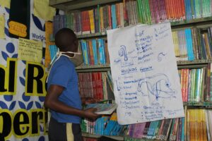 Amani Kibera library in Kibera
