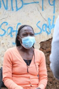 Judith Shitambule, Community Health Worker in Lindi, Kibera.