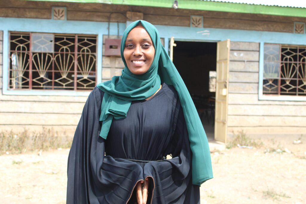 Mulki Mohamoud Abdikadir, a 23-year-old teacher in Isiolo County in Kenya. PHOTO/IMPACTHUB MEDIA