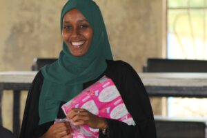 Mulki Mohamud Abdikadir is a 23-year-old teacher at Algani Girls Secondary School in Isiolo County.