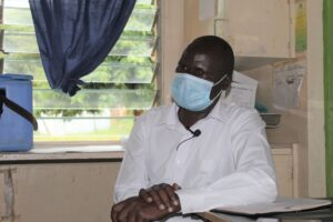 Daniel Wanjala, the Sigor Sub County Reproductive Health Coordinator