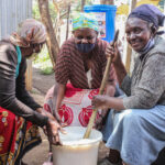 A refuge for the elderly in Kibra