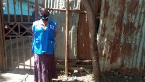 Rosemary Kisyula, a community health volunteer