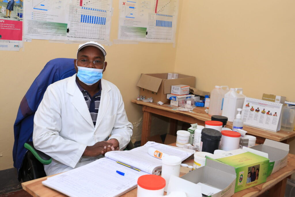 Tales of a lone health worker in Ololung'a's only health facility