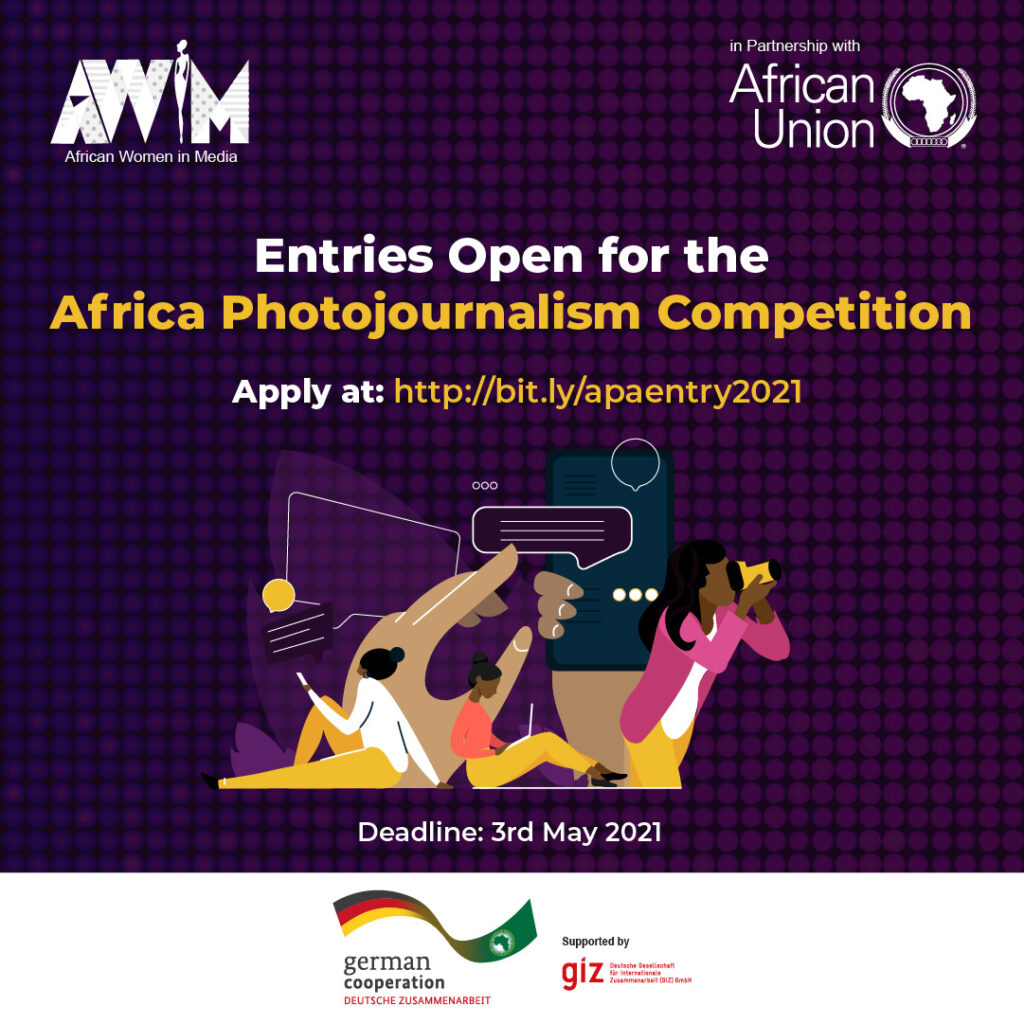 AWiM in partnership with AU and GIZ to host photojournalism contest