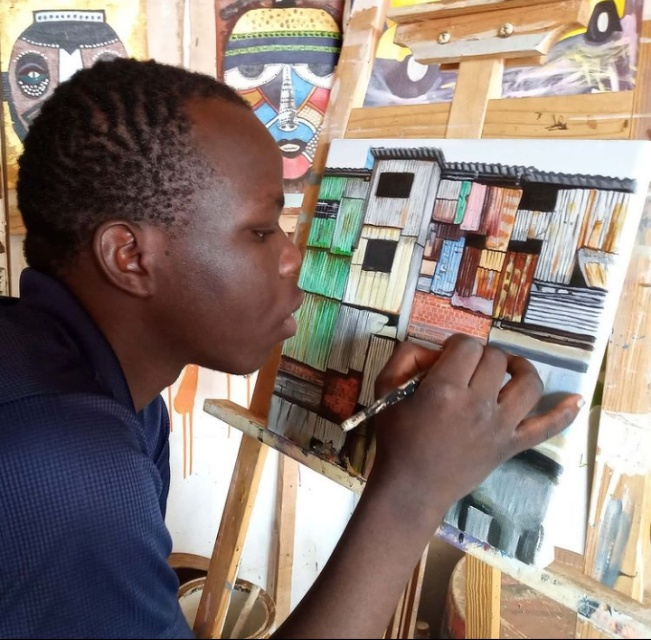 In Nyota Arts Gallery, artists have an opportunity to nurture their skills while making an income.