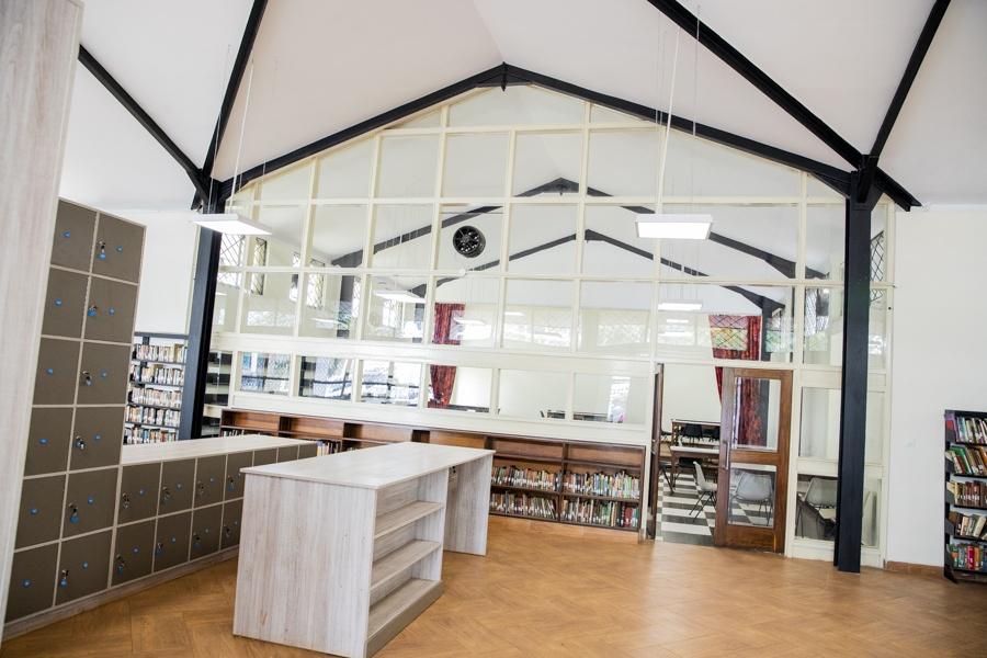 Eastlands library in Makadara after renovation
