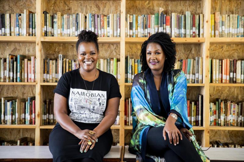 Wanjiru Koinange and Angela Wachuka